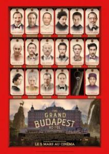 Sortie : 26 février 2014 Type : Comédie Réalisateur : Wes Anderson Avec : Ralph Fiennes, Tony Revolori, F. Murray Abraham  … Durée : 1H40