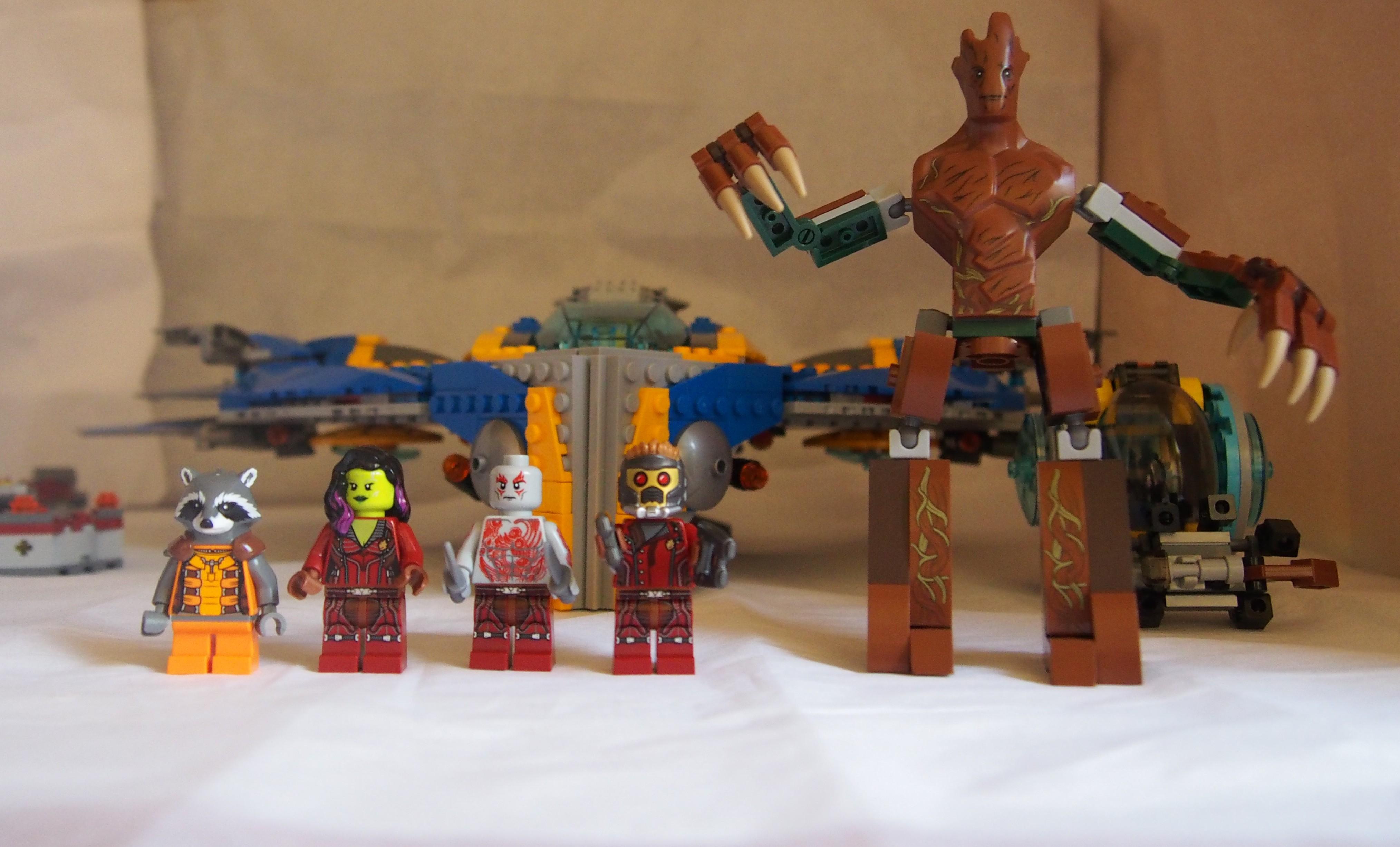 comment avoir les gardiens de la galaxie dans lego marvel
