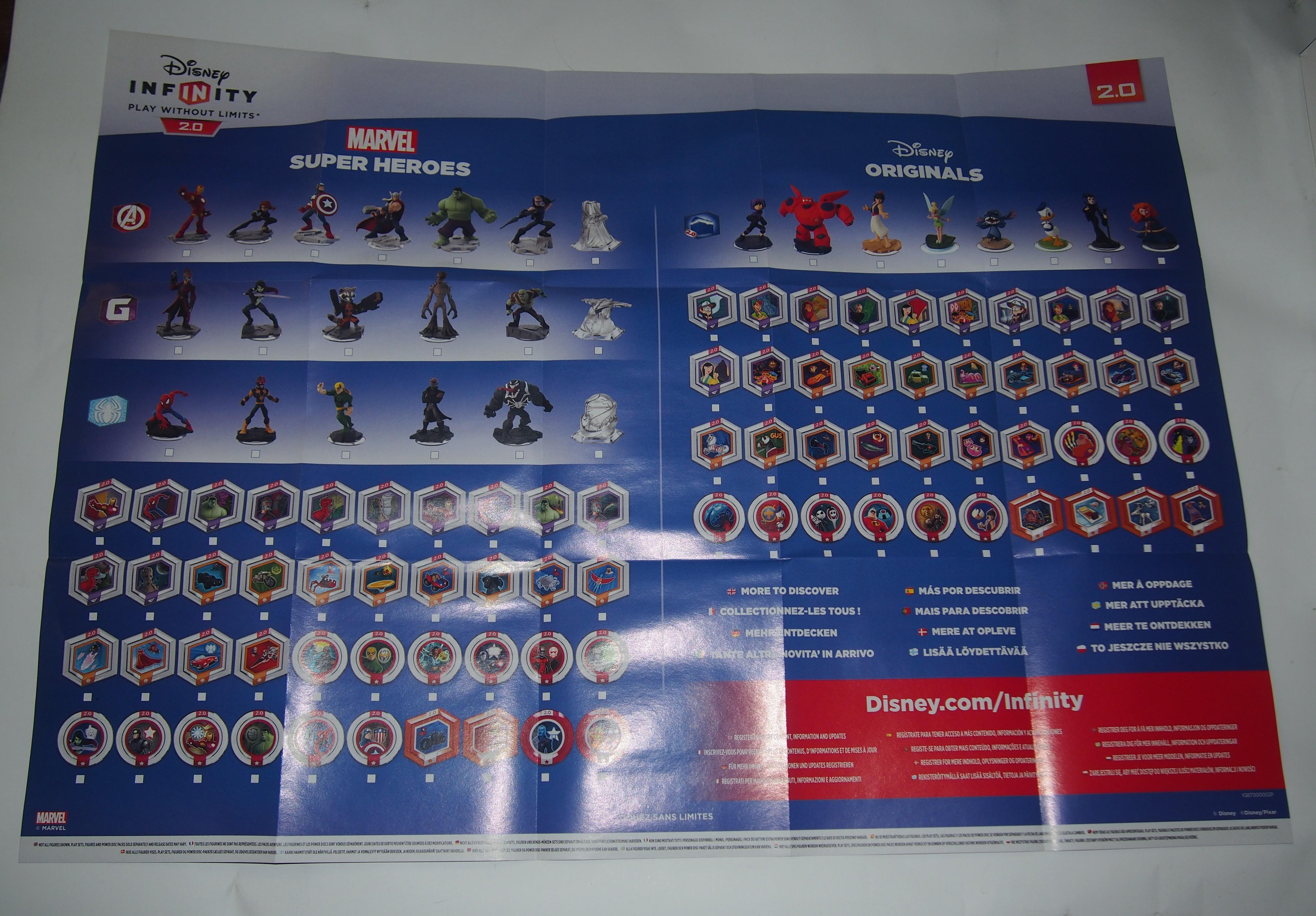 Déballage Disney Infinity 20 Version Ps4 Au Café Des Loisirs